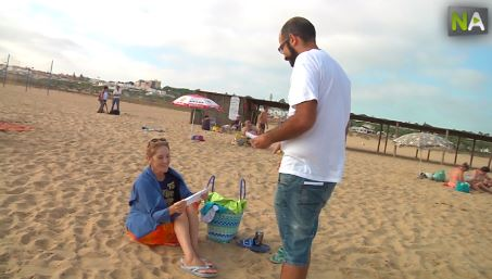 Poesie am Strand