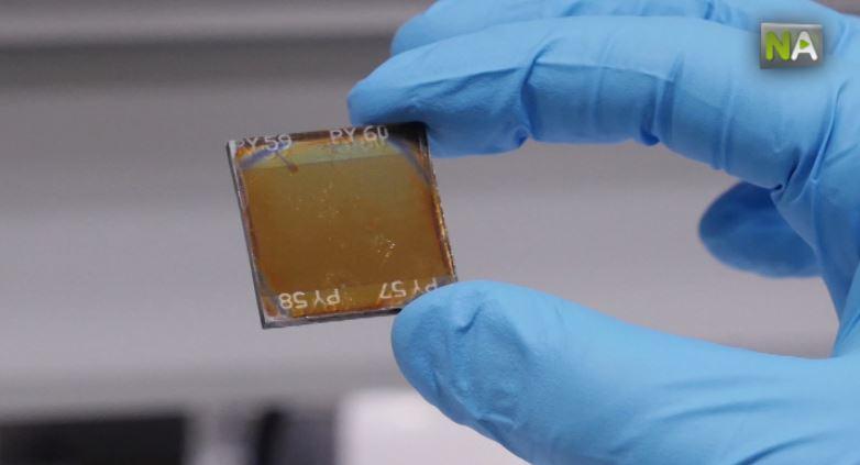Solarmodule farbig